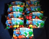 Super Mario's Brothers Boy Pillow Favors