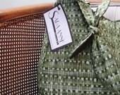 Green Tie Strap Purse