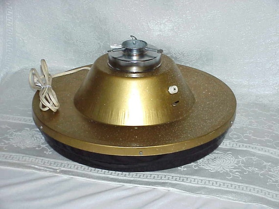 Vintage 60s Musical Rotating Christmas Tree By