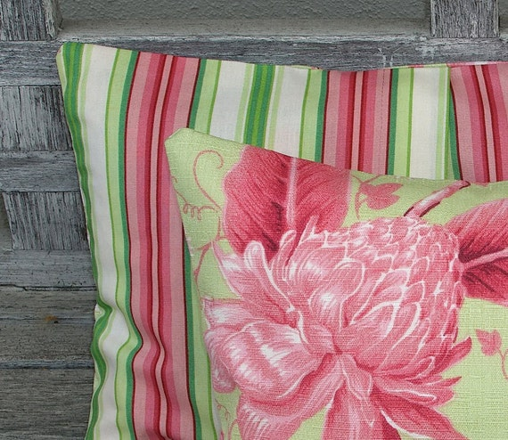 Pink Throw Pillow Covers Pair