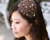 Betty- Pheasant Feathers Headband