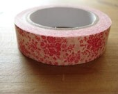Single Paper Deco Tape (Rose Pink)