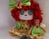 Annie Lu, Primitive folk Ar raggedy Doll ooak