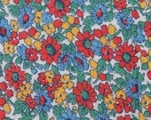 Very Bright Floral Feedsack M