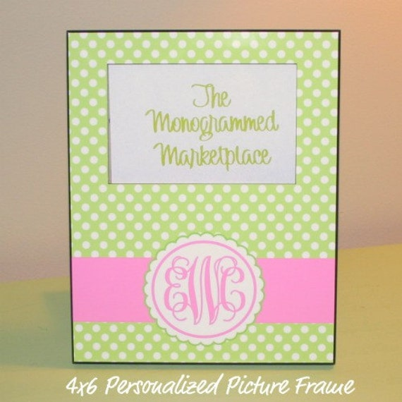 Personalized Picture Frame Personalized Baby Gift Monogrammed Baby Gift