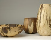 Chinese Tallow Turned Wood Trio - James McClure