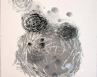 36 Nests - Screenprint