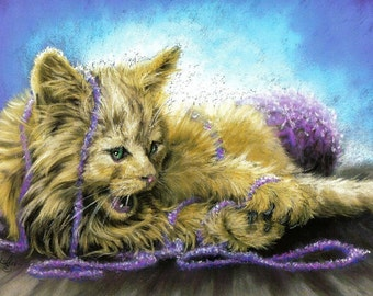 Cat... Knit One and Purr Two