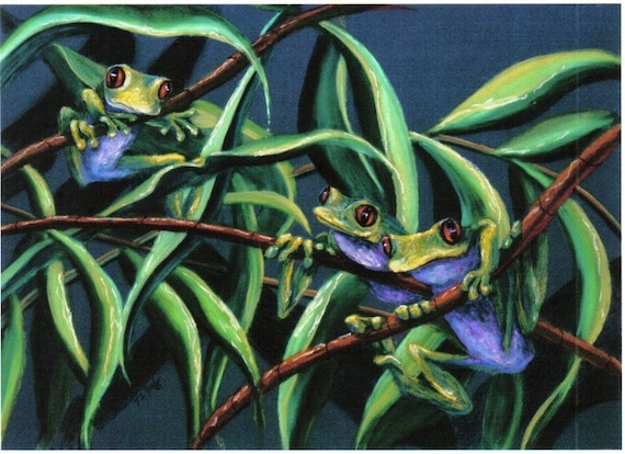 Tree Frogs .... Branch Meeting