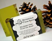 All Natural Balsamic Pine Olive Oil Soap