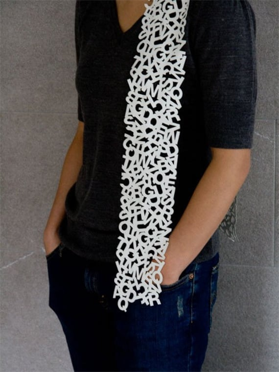 Uppercase Scarf