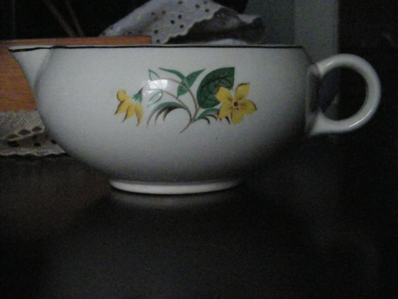 1954 Salem China Starlight Pitcher