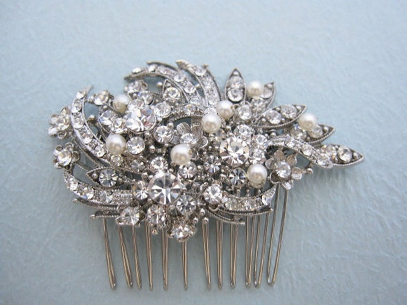 Bridal hair comb wedding accessories bridal hair accessories wedding hair comb bridal hair jewelry wedding hairpiece bridal comb wedding