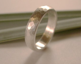 Wedding Band, 4.5mm Width, Sterling Silver