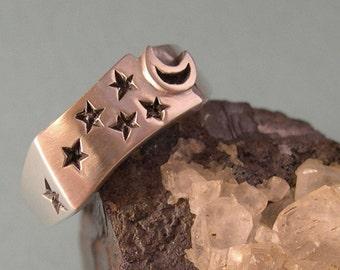 Celestial Ring, Sterling Silver