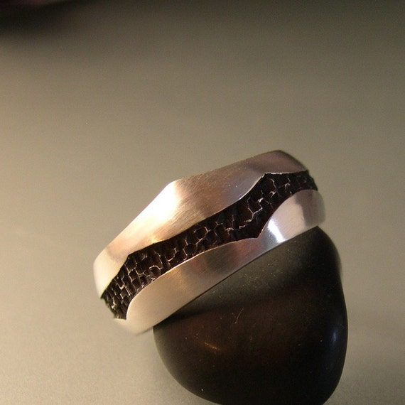 ROCKY RIVER RING, Sterling Silver