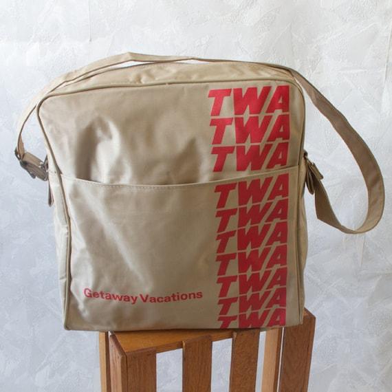TWA Flight Bag