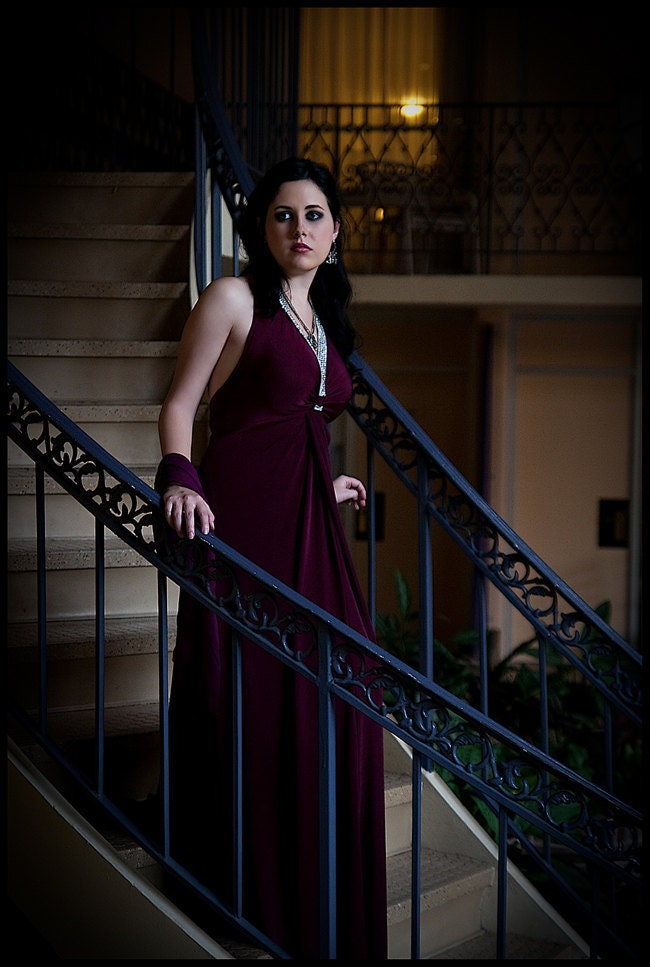 Eva Green Casino Royale Purple Dress Casino Royale Vesper L...