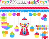 Little Star Sweet Shop Collection- Clipart for Personal or Commercial Use