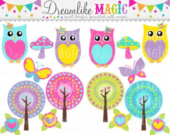 Heart and Hoot Collection- Clipart for Personal or Commercial Use