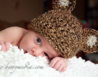 Bear Hat and Cocoon Newborn Baby Photo Prop Nutty, Photography Wrap Bear Hat New Baby, Photo shoot all Babies, Teddy Bear Hat and Cocoon Set