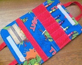 Ready-To-Go Teenage Mutant Ninja Turtles Crayon tote with 6 crayons - Shipping included
