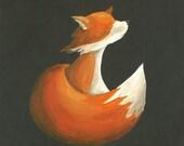 Dashing Fox 8x10 Print