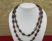 Necklace Wood Barrel