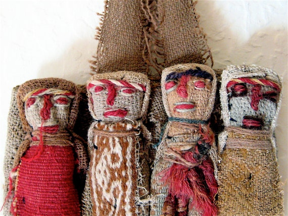 Antique Textile, Woven Peruvian