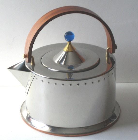 Bodum Tea Kettle Vintage Jorgensen Stovetop By Flabbyrabbit