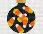 Halloween Candy Corn needlepoint Ornament - Jody Designs         B10/01  Candy Corn