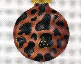 Safari Jaguar Needlepoint Ornament - Jody Designs   B62