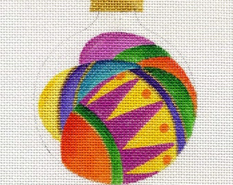 Crazy Eggs Needlepoint Ornament - Jody Designs  B63