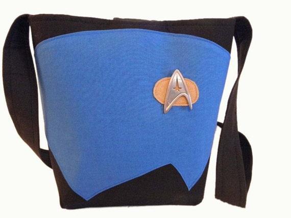 Star Trek Medium Handbag - Blue *Made to order*