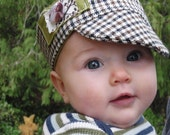 Eco-Friendly hip baby hat unisex 3-6 months
