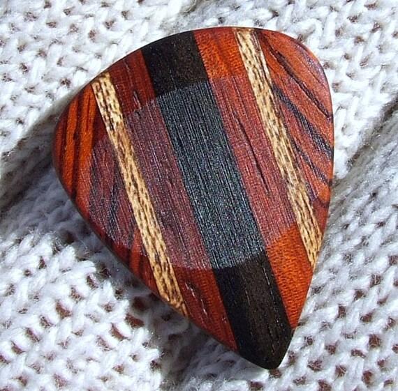 Cocobolo Guitar Wood Custom Wood Guitar Pick