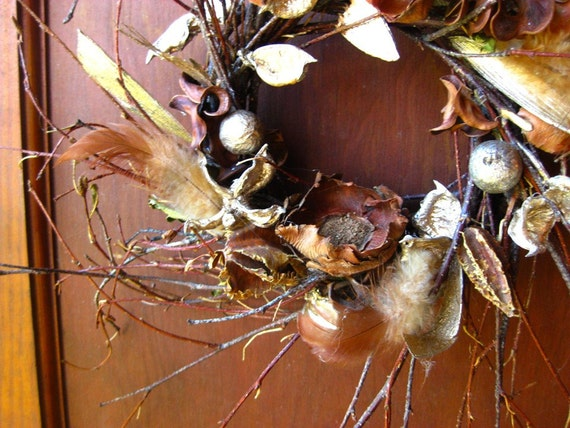 Gilded Forest Wreath - Small