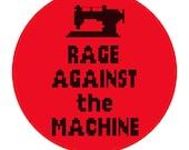 Rage Against the Machine Digital PDF Cross Stitch Pattern