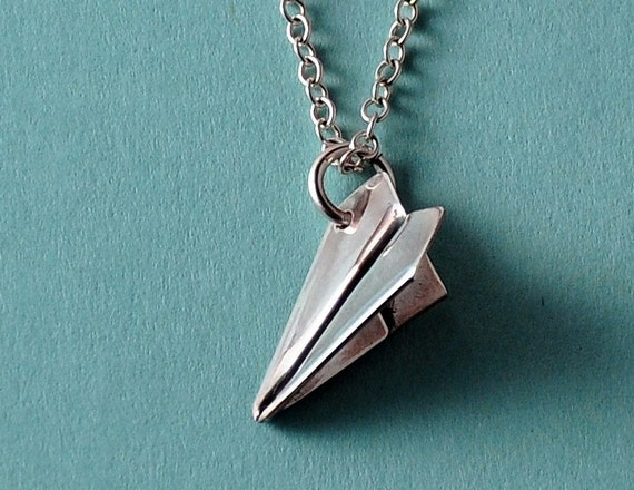 Aeroplane Pendant Necklace