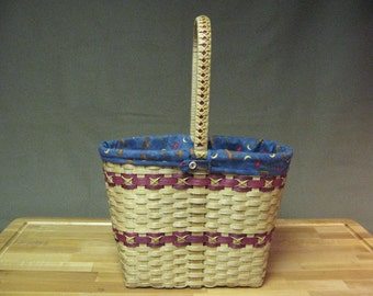 Basket with Fancy Handle