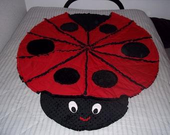 Quilt - Ladybug Rag Quilt