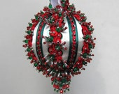 Beaded Christmas Ornament Kit - Yuletide Greeting