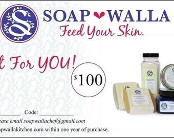 Soapwalla Gift Certificate