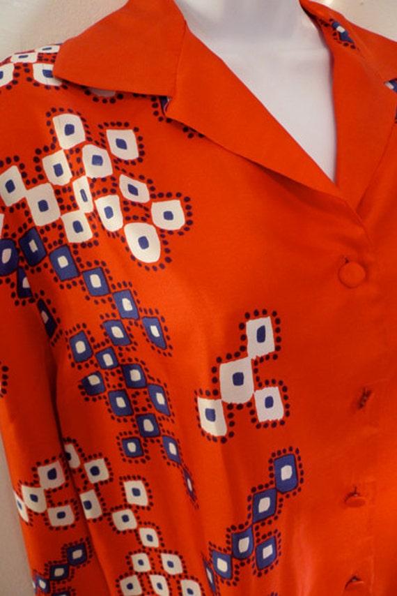 Vintage PIERRE CARDIN silk shirt