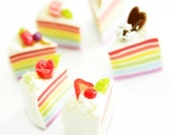 Romantic Rainbow Mini cake, set of 6 pieces