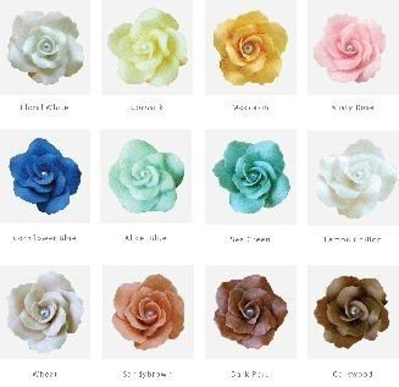 how to make roses with polymer clay