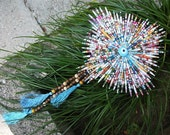 Paper Beads, Wall Hanging, Recycling, Evil Eye Wall Hanging