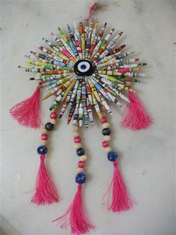 Paper Beads, Wall Hanging
