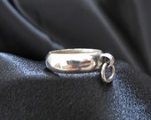 Story of O Ring in Sterling Siver  Size 7.5