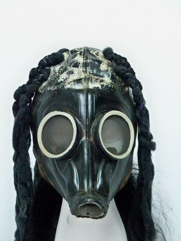 maggot mask slipknot/mushroomhead vintage gas mask